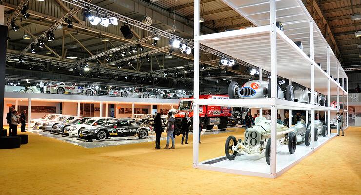 Mercedes auf der Techno Classica 2014