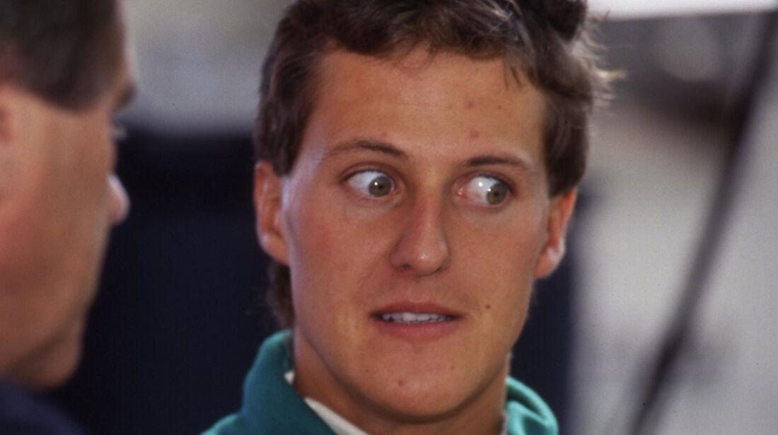 Michael Schumacher 1991 Spa GP Belgien Debüt