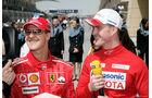Michael Schumacher - Ferrari - Ralf Schumacher - Toyota