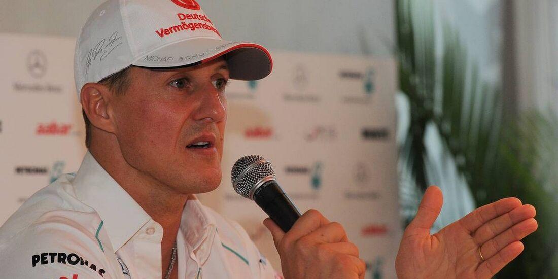 Michael Schumacher - Formel 1 - GP Abu Dhabi - 01. November 2012