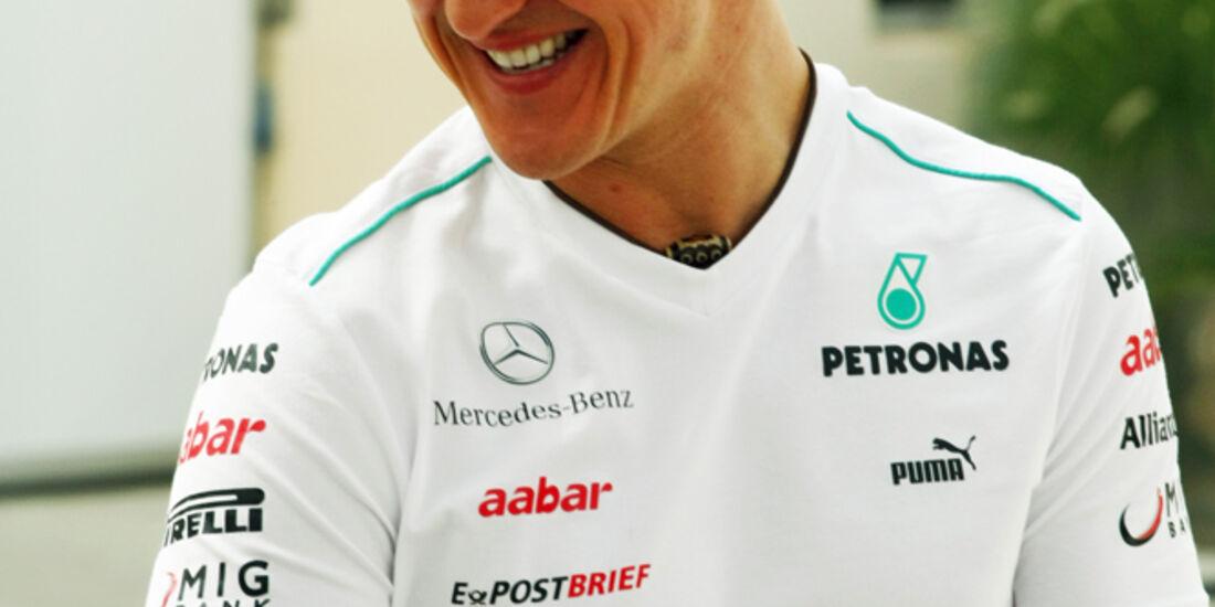 Michael Schumacher- Formel 1 - GP Bahrain - 19. April 2012