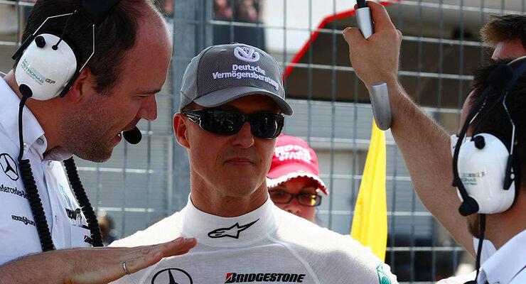 Michael Schumacher Formel 1 GP Kanada