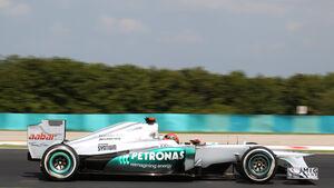 Michael Schumacher - Formel 1 - GP Ungarn - Budapest - 28. Juli 2012