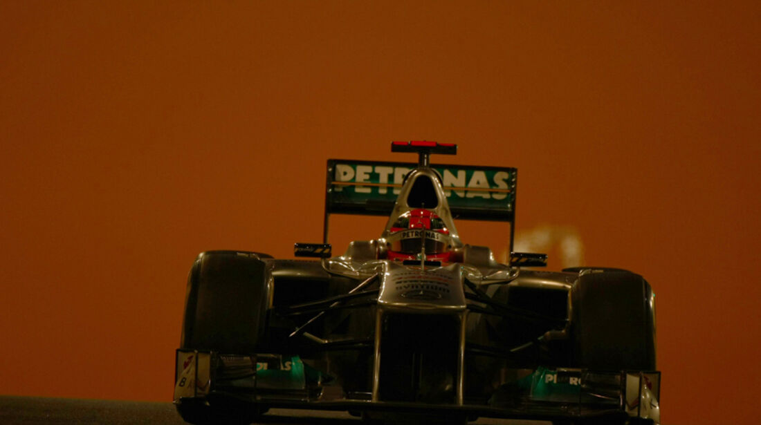Michael Schumacher - GP Abu Dhabi - Freies Training - 11. November 2011