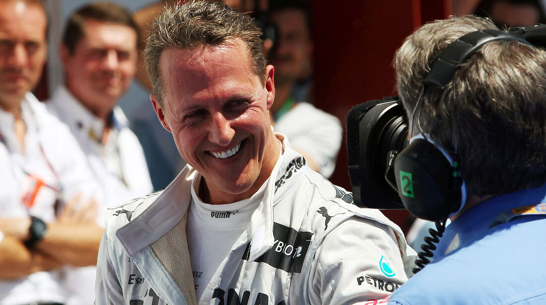 Michael Schumacher GP Europa 2012