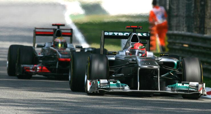 Michael Schumacher GP Italien Monza 2011