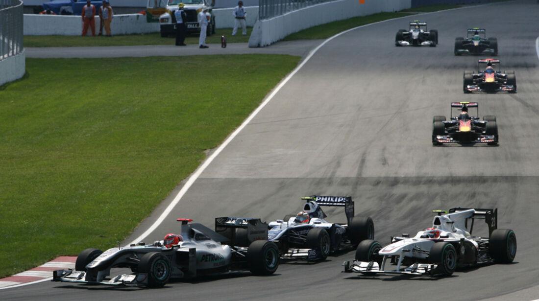 Michael Schumacher GP Kanada 2010