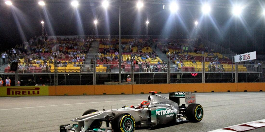 Michael Schumacher - GP Singapur - 23. September 2011