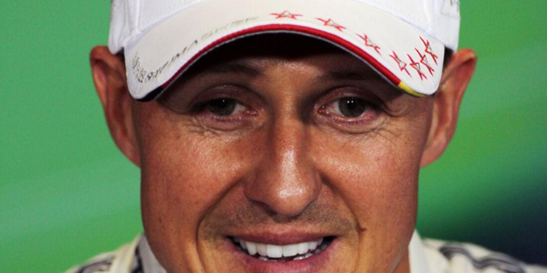 Michael Schumacher - Mercedes - Formel 1 - GP England - Silverstone - 7. Juli 2012