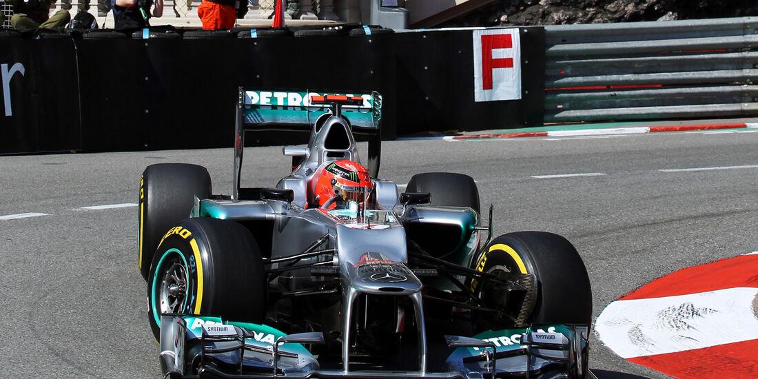 Michael Schumacher - Mercedes - Formel 1 - GP Monaco - 24. Mai 2012