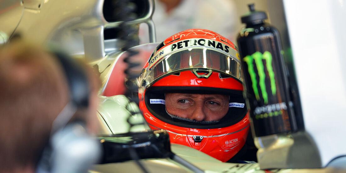 Michael Schumacher - Mercedes - Formel 1 - GP Singapur - 22. September 2012