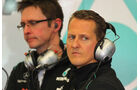 Michael Schumacher Mugello Formel 1 Test 2012
