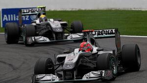 Michael Schumacher & Nico Rosberg