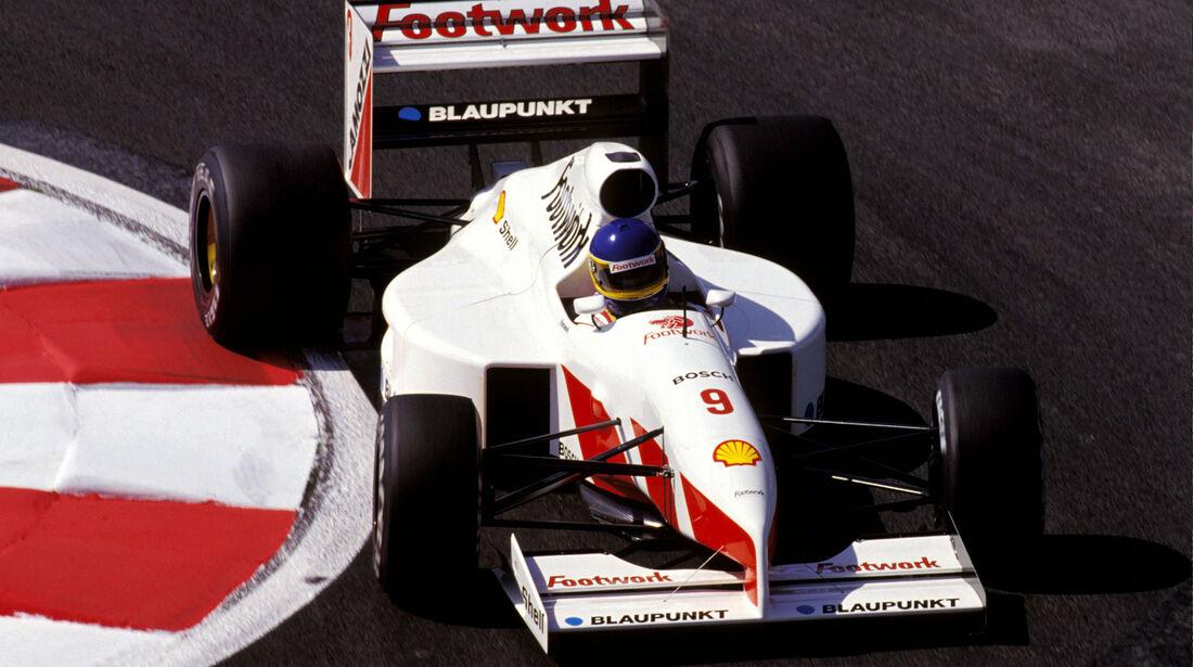 Michele Alboreto - Footwork Porsche FA12 - GP Frankreich 1991 - Magny Cours