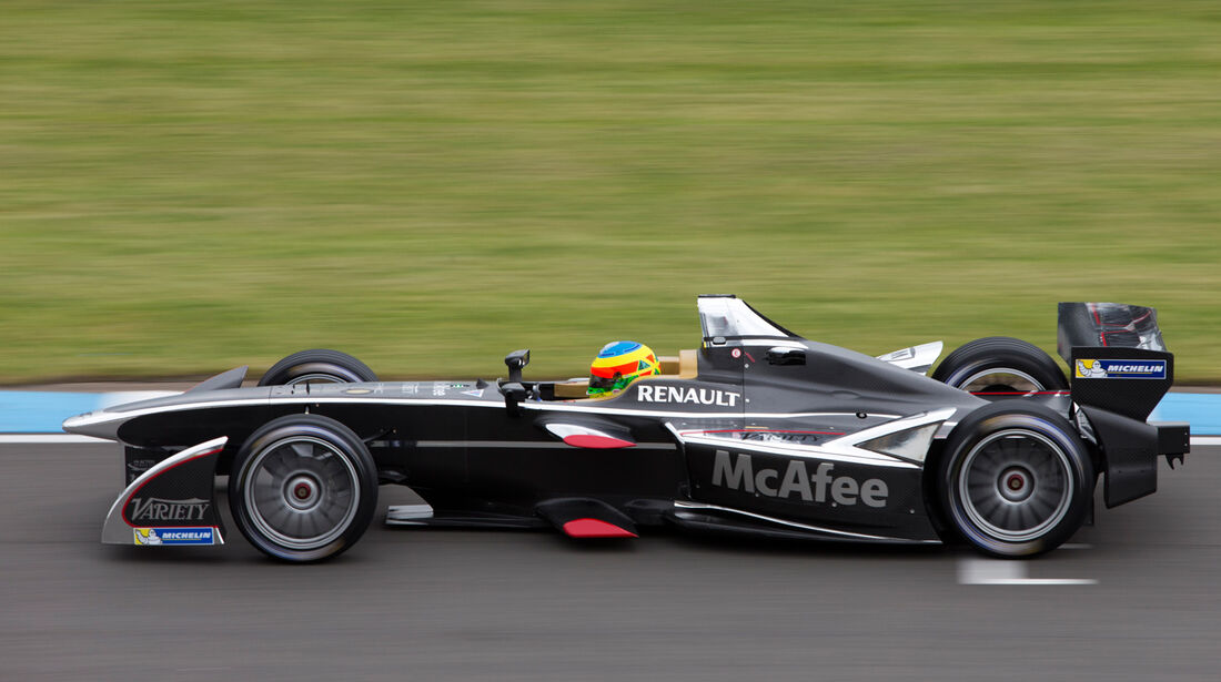 Mike Conway - Formel E-Test - Donington - 07/2014