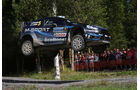 Mikko Hirvonen - Rallye Finnland 2014 - Tag 3 - WRC - Ford Fiesta WRC