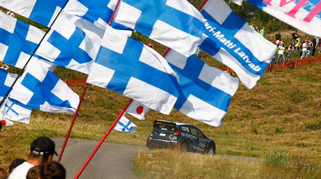 Mikko Hirvonen - Rallye Finnland 2014