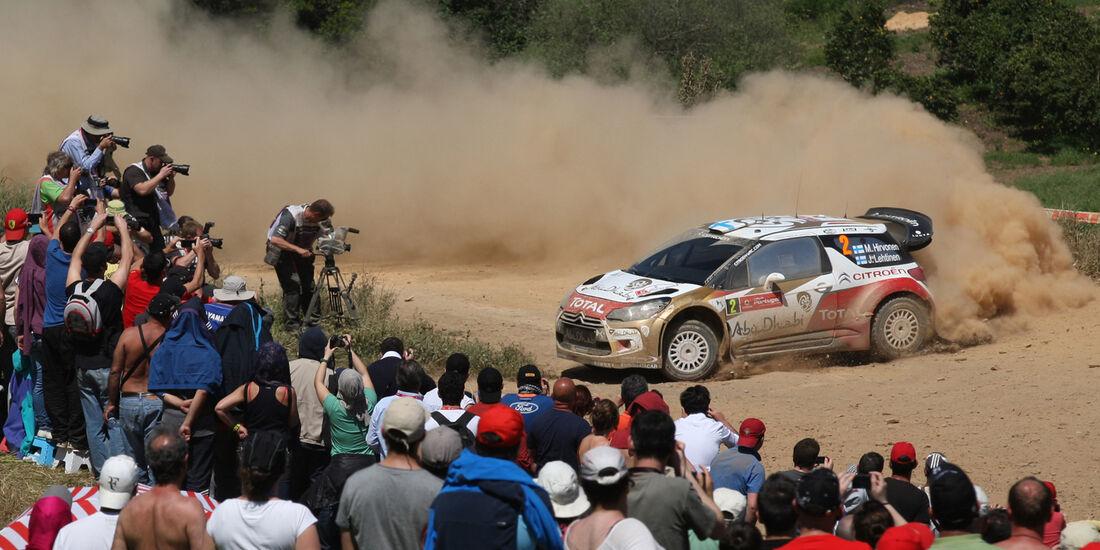 Mikko Hirvonen Rallye Portugal 2013