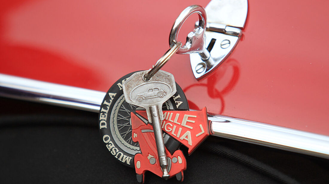 Mille Miglia 2010 - Schlüsselbund