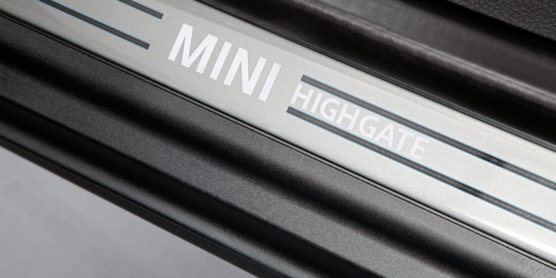 Mini Cabrio Highgate, Einstiegsleiste