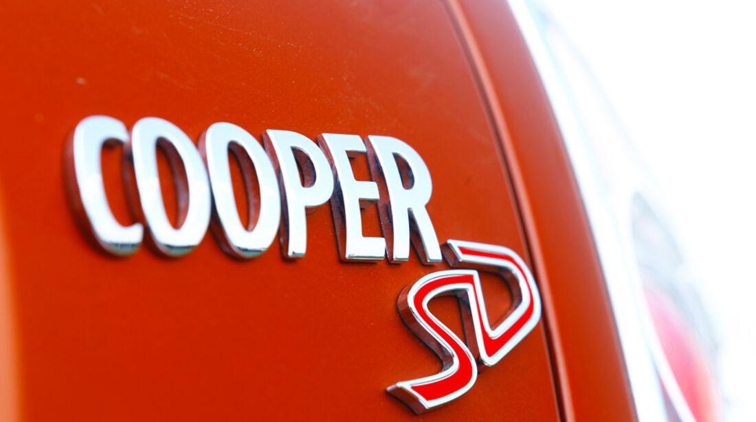 Mini Cooper SD, Emblem