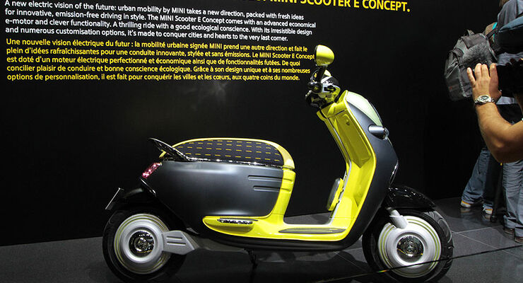 Mini E Scooter Paris 2010
