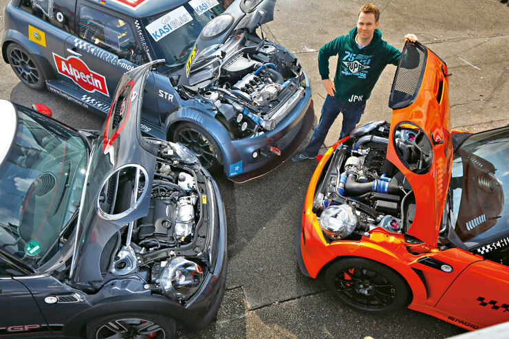 Mini JCW GP, Schirra- Mini JCW GTS, Schirra-Mini, Motoren