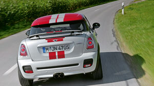 Mini John Cooper Works Coupe, Heck