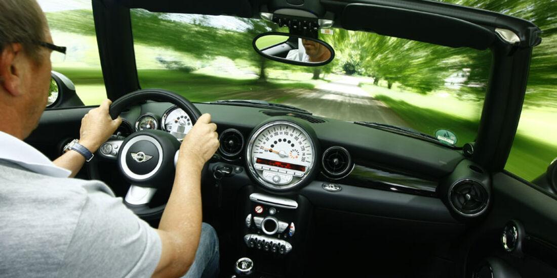 Mini One Cabrio, Innenraum