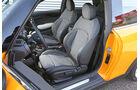 Mini One, Fahrersitz