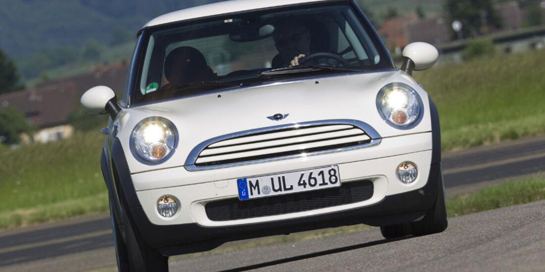 Mini One Minimalist Im Fahrbericht Mini Mit Spritspar Qualitäten