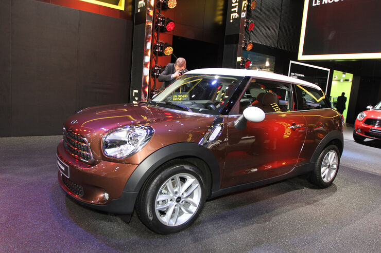 Mini Paceman, Messe, Autosalon Paris 2012