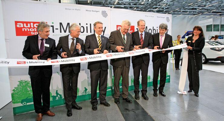 Ministerpräsident Winfried Kretschmann, Eröffnung, Messe