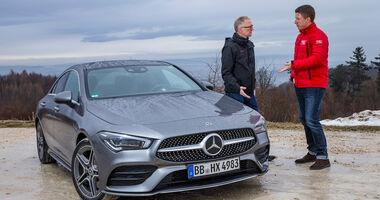 Mitfahrt, Mercedes CLA