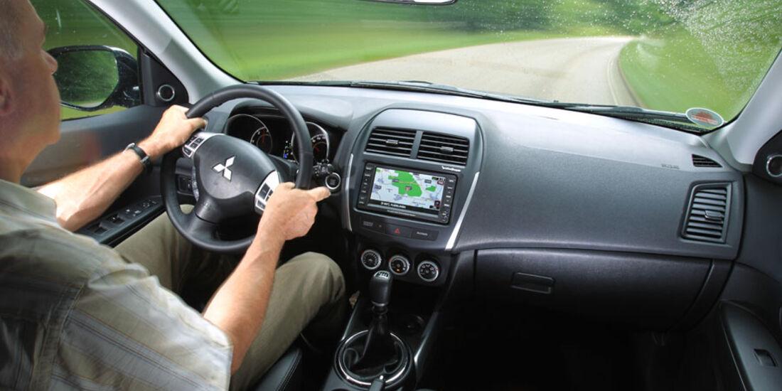 Mitsubishi ASX, Cockpit, Innenraum