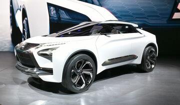 mitsubishi e-evolution concept: suv coupé mit e-antrieb - auto motor