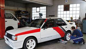 Mitsubishi Lancer 2000 Turbo ECI, Radwechsel