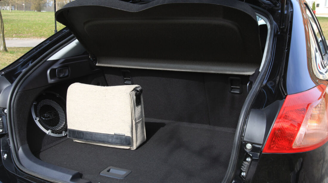 Mitsubishi Lancer, Kofferraum