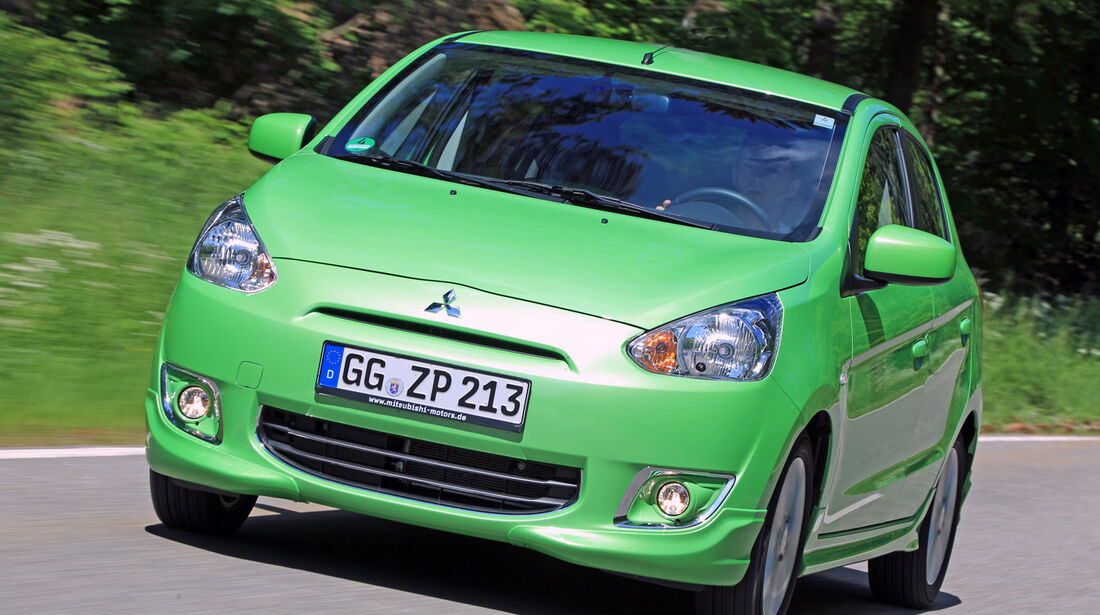 Mitsubishi Space Star 1.2, Frontansicht