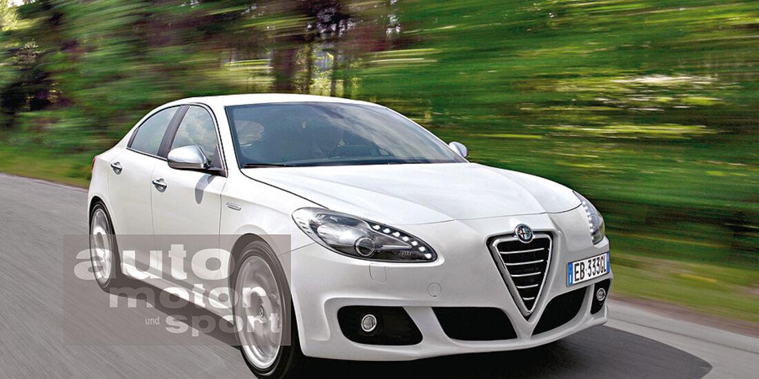 Mittelklasse-Limousine Alfa Romeo Giulia