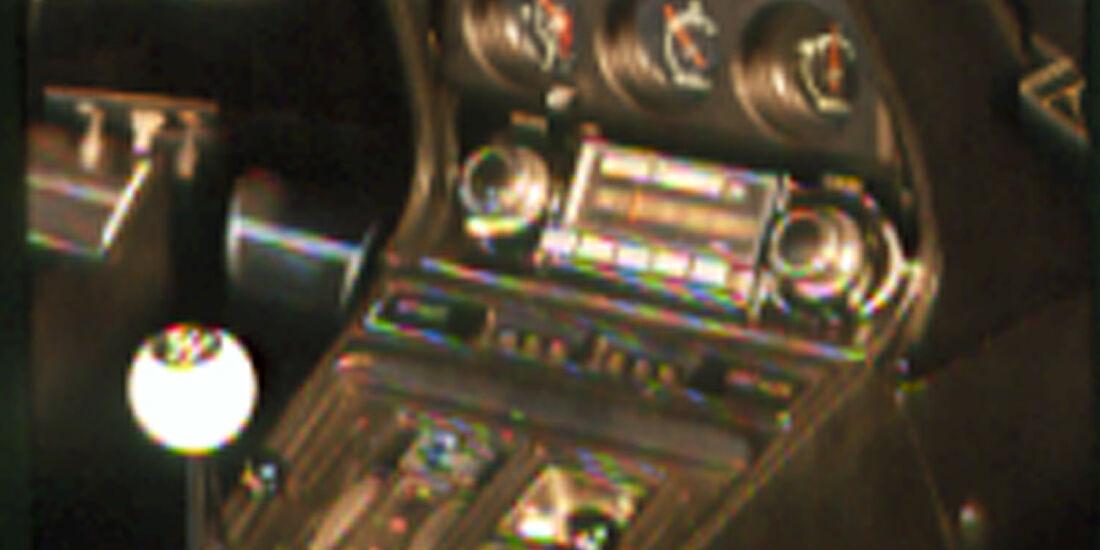Mittelkonsole der Chevrolet Corvette Stingray 454