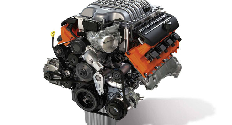 6,2-Liter Supercharged Crate Hemi \
