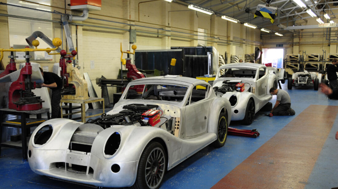 Morgan Aero SuperSports, Produktion