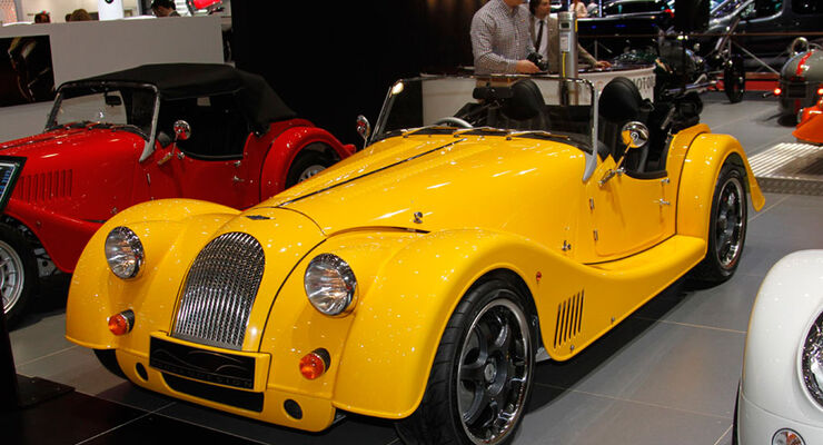Morgan Plus E Electric Car, Autosalon Genf 2012, Messe