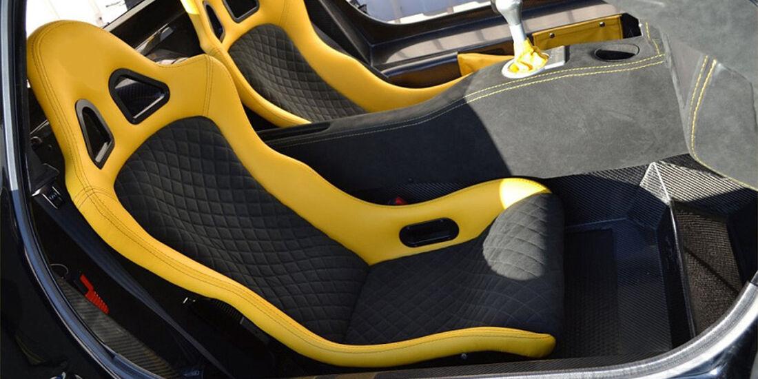 Mosler Raptor GTR, Innenraum, Sitze