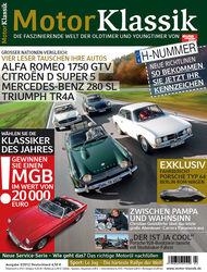 Motor Klassik - Hefttitel, Titel  02/2012