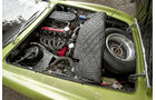 Motorraum des Ghia 230 S Prototipo