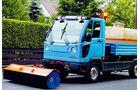 Multicar, Straßenreinigung