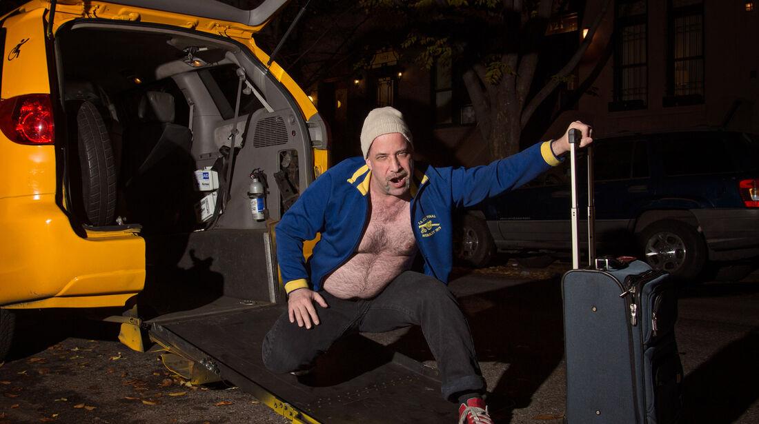 NYC Taxi Drivers 2014 Beefcake Calendar
