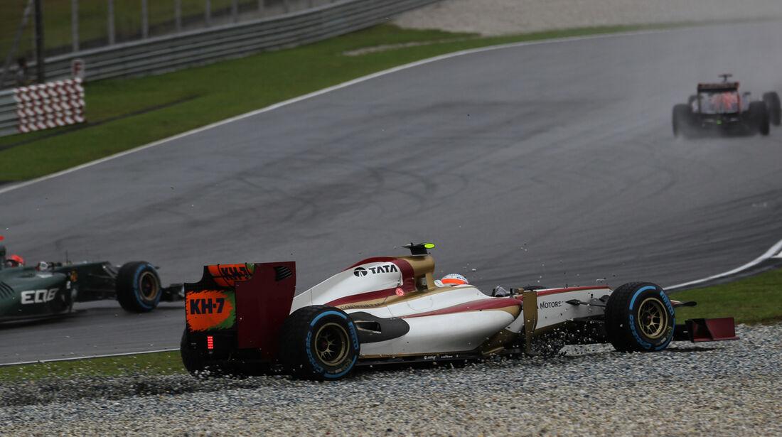 Narain Karthikeyan GP Malaysia 2012